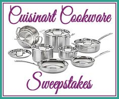 Cookware Sweepstakes  http://www.planetgoldilocks.com/American_sweepstakes.htm #cookwaresweepstakes  #sweepstakes #contests #giveaways #prizes