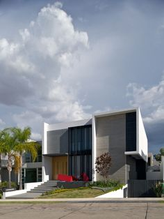 V #House by Agraz Arquitectos Spacious Family Home Inspired By the Birth of Their First Child