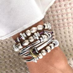 The Bella leather wrap bracelet is yet another innovative design by Lizzy James that can be worn as a wrap bracelet or necklace. This artisan jewelry design is Cute Jewelry, Body Jewelry, Jewelry Gifts, Silver Jewelry, Handmade Jewelry, Men's Jewelry, Leather Jewelry, Silver Beads, Silver Bracelets