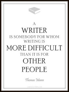 Writers On The Move: Thomas Mann Quote