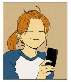Cheese in the trap Manhwa, Cheese In The Trap Webtoon, T Wallpaper, Cinnamon Rolls, Anime Love, Cartoon, Comics, Illustration, Funny