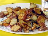 Picture of Oven Home Fries with Peppers and Onions Recipe