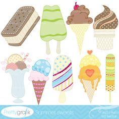 popsicle clipart commercial use - PGCLPK311