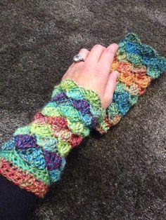 34 Besten Stulpen Bilder Auf Pinterest In 2019 Gloves Crochet