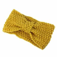 Amazon.com: Bestpriceam Fashionable Crochet Bow Knitted Winter Headband Ear Warmer (Beige): Beauty