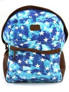 Billabong Fashion Matters Backpack Women's Multi One Size BILLABONG FASHION STARS BLUE