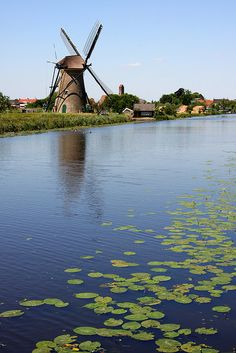 Windmill and Water | Holland
