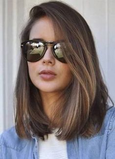 66 beautiful long bob hairstyles with layers for 2018 Best Picture For long hair cuts ombre For Your Low Maintenance Haircut, Haircut For Thick Hair, Haircut Medium, Long Bob Hairstyles For Thick Hair, Hairstyle Short, Haircut For Medium Length Hair, Hairstyles Haircuts, Retro Hairstyles, Celebrity Hairstyles