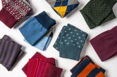 Refresh his old collection with socks for just $8 from The Tie Bar. His feet will thank us and so will you.