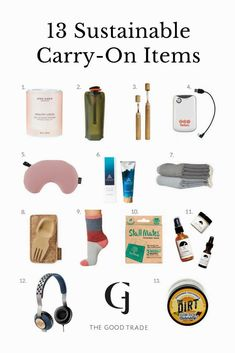 13 Sustainable Carry-On Items