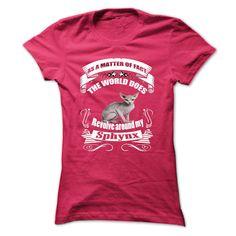 Sphynx T-Shirts, Hoodies. Get It Now ==► https://www.sunfrog.com/Pets/Sphynx-60334092-Ladies.html?41382