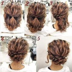 25 Cute Easy Updos for Short Hair 2016 – 2017