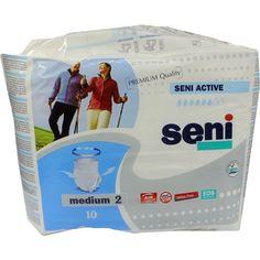 SENI Active Pants Grösse M:   Packungsinhalt: 10 St PZN: 03086640 Hersteller: TZMO Deutschland GmbH Preis: 10,12 EUR inkl. 19 % MwSt.…