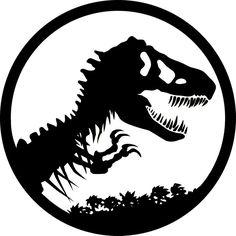 Jurassic Park T-Rex logo   JURASSIC PARK / WORLD   Pinterest