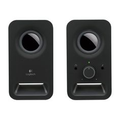 Shop for Logitech Stereo Speakers - Midnight Black. Starting from Choose from the 4 best options & compare live & historic computer speaker prices. Logitech Speakers, Laptop Speakers, Bookshelf Speakers, Stereo Speakers, Multimedia Pc, Multimedia Speakers, Audio, Speaker System, Color Negra
