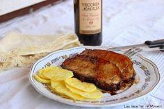 Lomo de cerdo asado al vinagre de Modena