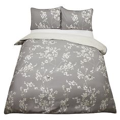 Buy John Lewis Gabriella Floral Bedding, Natural Online at johnlewis.com