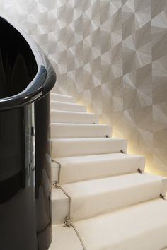 Luxury Stair Runner Design Ideas For Your Classy Home - Top-Trends Interior Staircase, Staircase Design, Staircase Walls, Stair Design, House Stairs, Carpet Stairs, Custom Home Builders, Custom Homes, Joinery Details