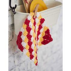 Corner-to-Corner Dishcloth Free pattern from Yarnspirations.
