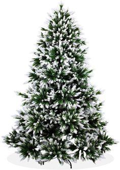 Künstlicher Weihnachtsbaum 210cm Deluxe in Premium Spritzguss Qualität, angeschneite Nordmanntanne, Tannenbaum mit PE Kunststoff Nadeln, Nordmannstanne Christbaum im beschneit Design: Amazon.de: Küche & Haushalt
