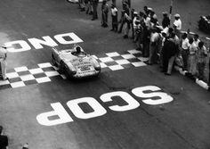 Porsche 550 Spyder driven by Hans Herrmann, 1954