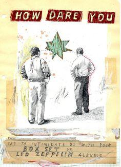 Work On Paper by David Fullarton, via Behance