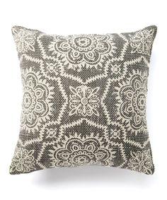 Take a look at this Gray Samora Throw Pillow today!