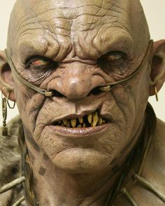 Ogre I designed sculpted and painted for a movie from about ten years ago. Zbrush, Character Inspiration, Character Art, Character Design, Fantasy Creatures, Mythical Creatures, Troll, Makeup Fx, Arte Black
