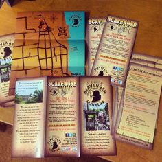 Amazing Trifold Brochure Maps and Rack Cards for the St. Augustine Scavenger Hunters! One of our favorite clients! If you're in the area don't hesitate to check them out!  #printing #promo #merch #scavengerhunt #staugustine #igers_staugustine #staugustinebuzz #floridashistoriccoast #staugustinebeach #acehighprinting by acehighprinting