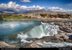 River Cijevna - waterfalls near Podgorica