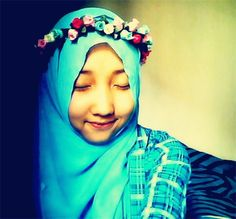 This is my flower crown ..