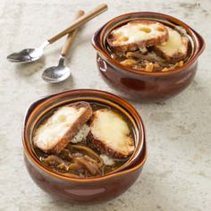 Slow cooker French onion soup--America's Test Kitchen