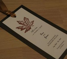 Invitations - Sarah and Lyd??