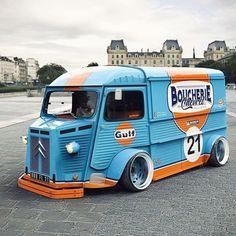 Citroen Type H, Citroen H Van, Dodge, Monospace, Cafe Racer Magazine, Retro Caravan, Classic Pickup Trucks, Cool Vans, Tuner Cars