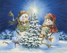 """The Snow Family"" - by Dona Gelsinger"