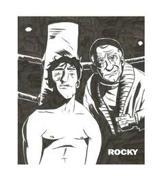 """rocky""- by ascdman. illustrated manual, with brushpen(pentel gfkp japan)(pentel hybrid roller) , digitally edited (frame and typography) Manual, Typography, Japan, Deviantart, Digital, Frame, Illustration, Fictional Characters, User Guide"