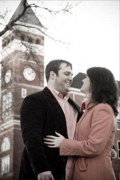 Clemson engagement photos