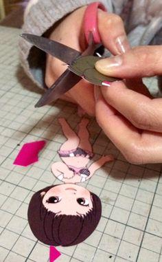 momoko DOLL as Paper Doll①