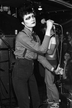Super Seventies — Siouxsie and The Banshees at The Roxy, 1977....