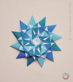Origami 12-Pointed Star - Maria Sinayskaya's