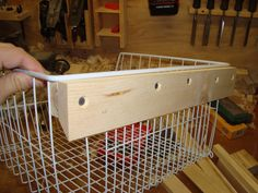 Brotherwood: Quick Project - Laundry Room Basket More