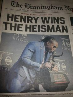 Derrick Henry wins The Heisman Trophy (2015)