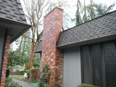 Don't let an aging brick fireplace or chimney remain an eyesore for your home. Let us repair the masonry and restore its natural beauty!  #SeattleMasonry