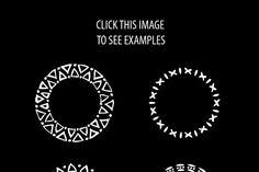 50 Dot Brushes for Adobe Illustrator - Brushes