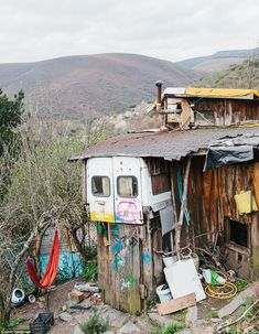Matavenero village transformed by Spanish hippies into eco-friendly idyll   Daily Mail Online