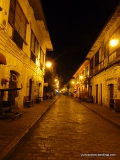Vigan is the only Heritage City in the Philippines inscribed in the UNESCO World Heritage List and the only surviving colonial town in the country. It is the capital of Ilocos Sur Province and located on the western coast of Luzon. Vigan Philippines, Ilocos, Western Coast, Best Background Images, Night Shot, Travel Photos, Survival, Asia, Europe