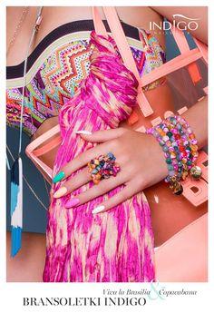 Indigo Bracelet from brazilian stones #nails #nail #bracelet #brazilian #stones…