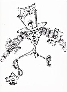Noslen Flores Tecnica: ilustración a mano con rapidograph. Caracas,Venezuela