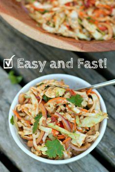 Produce On Parade - Thai Cabbage Salad