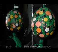 Ukrainian Easter Egg Pysanky 01- 135 by Iryna Vakh from Lviv, Ukraine on AllThingsUkrainian.com